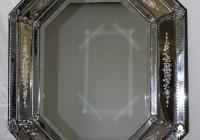 Antique Mercury Glass Mirror