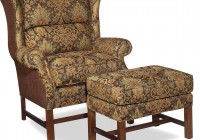Armchair With Ottoman Set