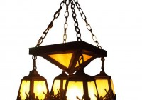 Arts And Crafts Chandelier Lighting