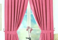 Baby Pink Blackout Curtains
