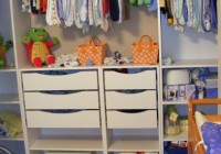 baby wardrobe closet with drawers
