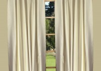 Back Tab Window Curtains