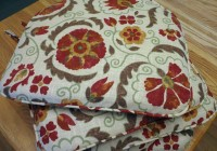 bar stool cushions square with ties