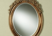 Baroque Oval Wall Mirror