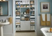 Bathroom Closet Organization Ideas