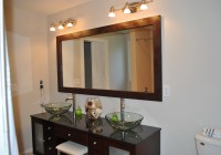 bathroom mirror frames diy