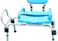 Bathtub Transfer Bench Sliding Seat