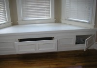 Bay Window Bench With Storage