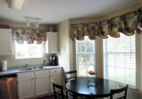 Bay Window Curtain Ideas For Dining Room
