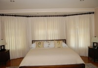 Bay Window Curtain Rods Target