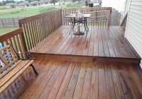 Behr Semi Transparent Deck Stain Sticky