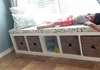 Bench Seat With Storage Diy