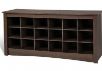 Bench With Shoe Storage Plans