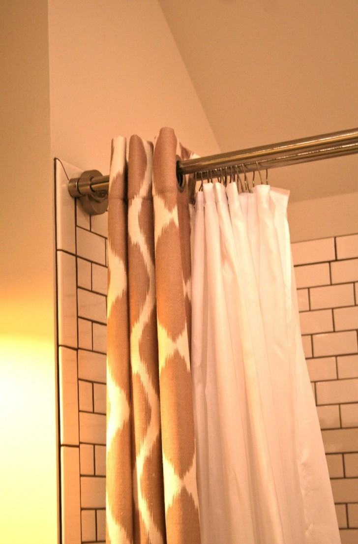 Permalink to Best Shower Curtain Rod For Tile