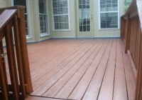 Best Stain For Decks And Sealer