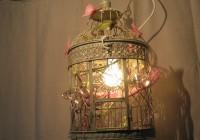 Birdcage Chandelier Shabby Chic