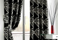 Black And White Blackout Curtains