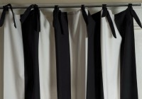 Black And White Curtain Panels