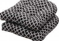 Black And White Seat Cushions