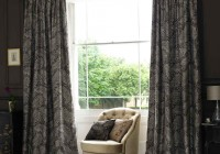 Black Bedroom Window Curtains