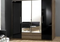 Black Brown Wardrobe Closet