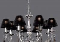 Black Lamp Shade Chandelier