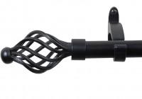 Black Metal Curtain Rods