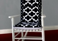 Black Rocking Chair Cushions