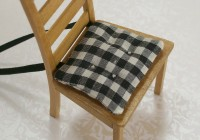 Black Seat Cushions Indoor