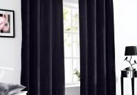 Black Velvet Curtains 90×90
