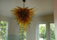 blown glass chandelier artist