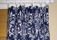 Blue And White Curtain Panels