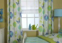 Blue And Yellow Curtain Panels