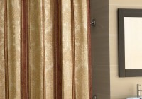blue carpet gold curtain rods