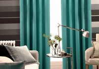 Blue Green Curtain Panels