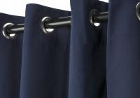 Blue Grommet Curtains 96
