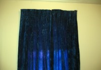 Blue Velvet Curtains Ebay