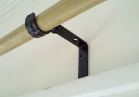 Brass Curtain Rod Holders