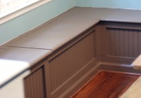 Breakfast Nook Bench Plans