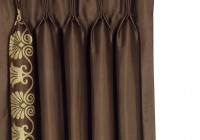 Brown And Gold Curtain Panels