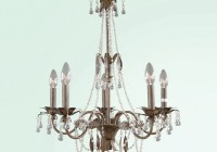 Brown Crystal Chandelier Lighting