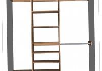 Build Your Own Closet Organizer Plans