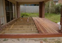 Building A Floating Deck Over Concrete Slab