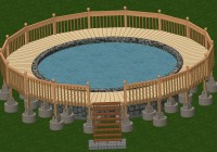 Building A Pool Deck Plans