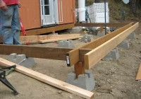 Building A Pool Deck With Deck Blocks