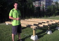 Building A Pool Deck With Dek Blocks