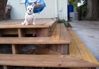 Building A Wood Deck Over Dirt