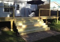 Building Deck Stairs With A Landing