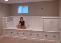 Built In Bench Seat With Storage