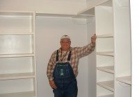Built In Shelves In Closet